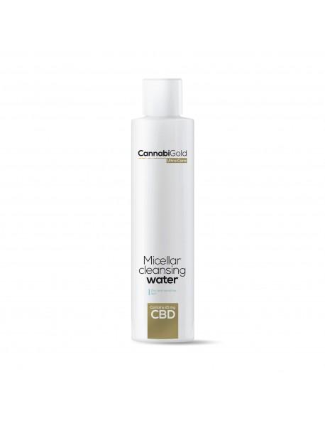 25мгCBD Мицеларна почистваща вода за суха, чувствителна и предразположена към дерматити кожа 200мл