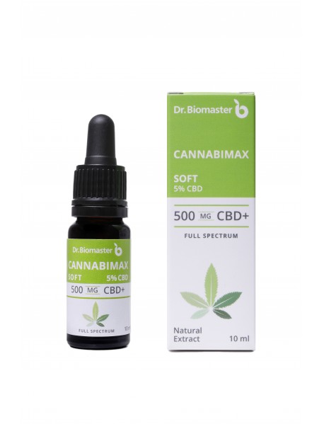 Канабимакс Софт 5% CBD (500 mg CBD), 10 ml