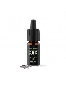 CBD конопено масло 7 % с витамин Е 10 мл